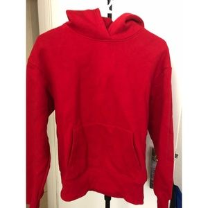 Zara red hoodie (warm)